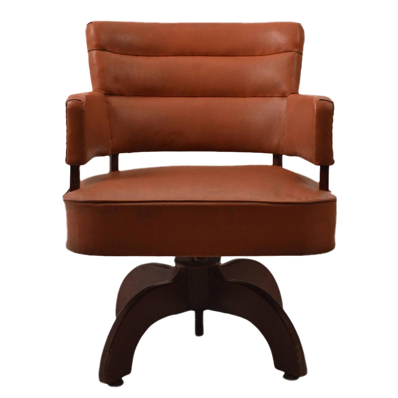 Art Deco Swivel Desk Chair at 1stdibs
