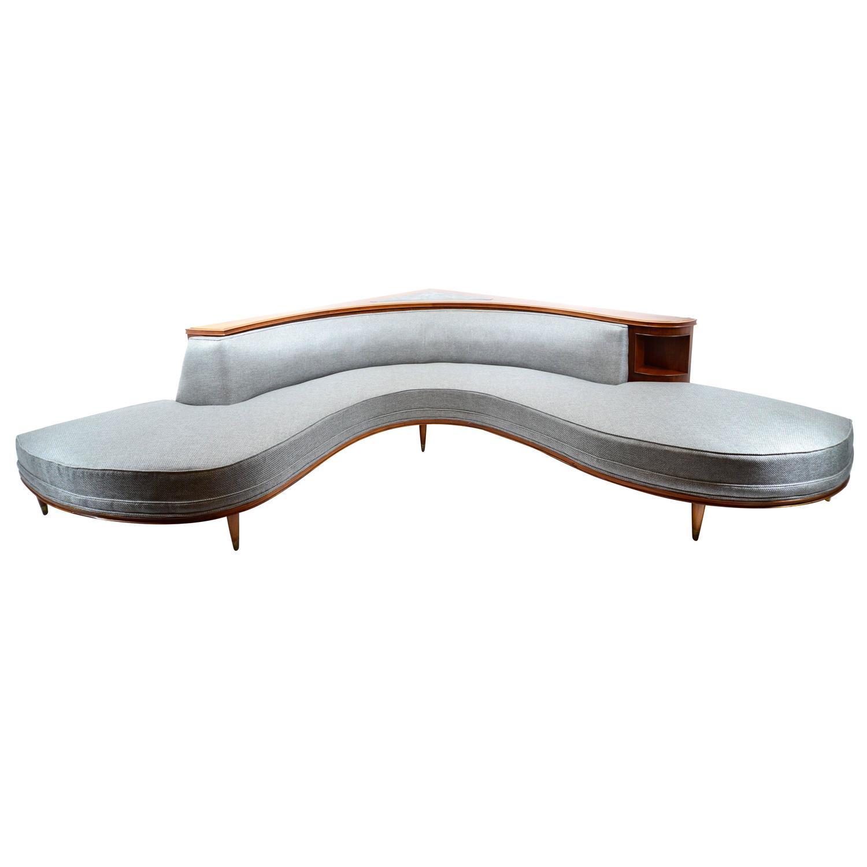 Arturo Pani Circular Sofa At 1stdibs
