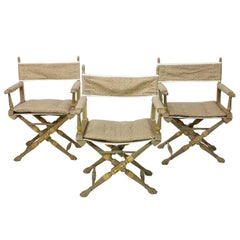 20th Century Campaign Folding Chairs