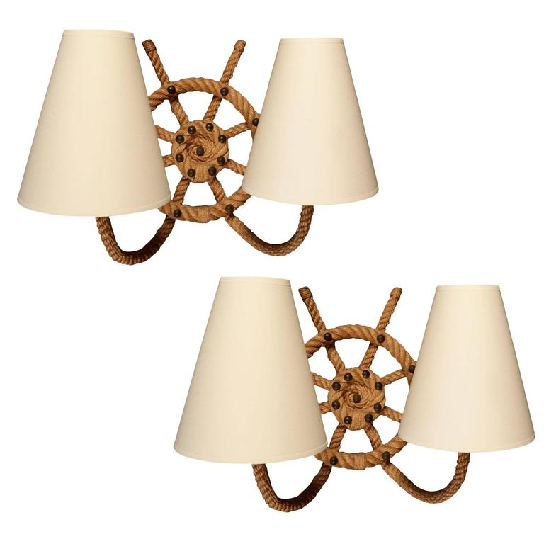 Boat Wall Lights : Pair of 1950s