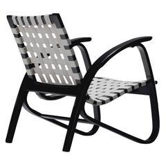 Jindrich Halabala Lounge Chair, 1930s