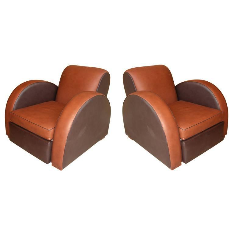 Two 1930s Armchairs by Michel Duffet