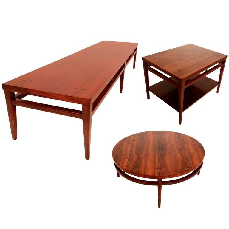Mid Century Lane Copenhagen Drop Leaf Coffee Table: Mid-Century Modern Coffee Tables By Lane After Paul McCobb