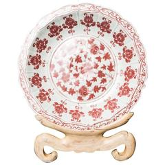 Decorative Korean Plate on Stand