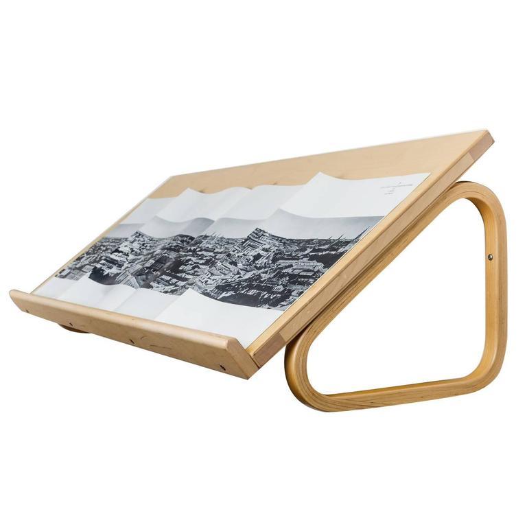 Alvar Aalto Magazine Shelf for Artek, Blond Wood, Finland, 1950s