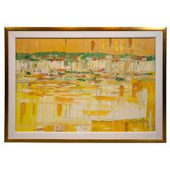 20th Century Italo Botti Oil Painting