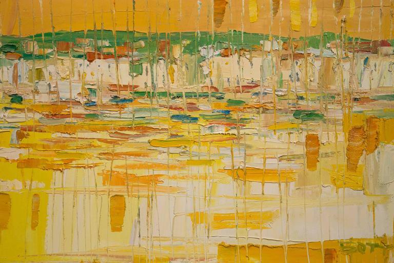 Modern 20th Century Italo Botti Oil Painting