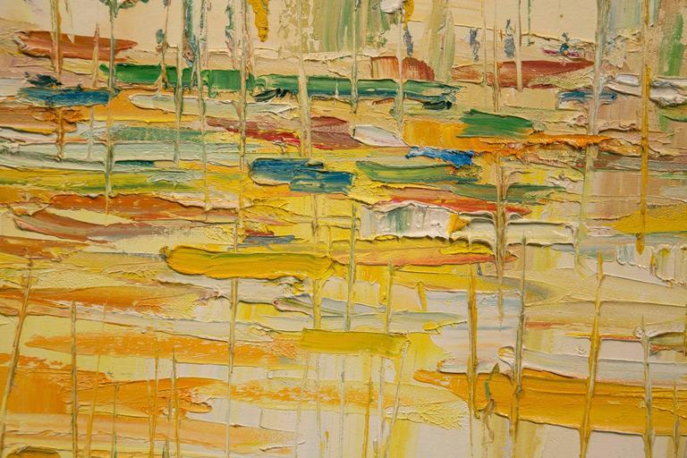 French 20th Century Italo Botti Oil Painting