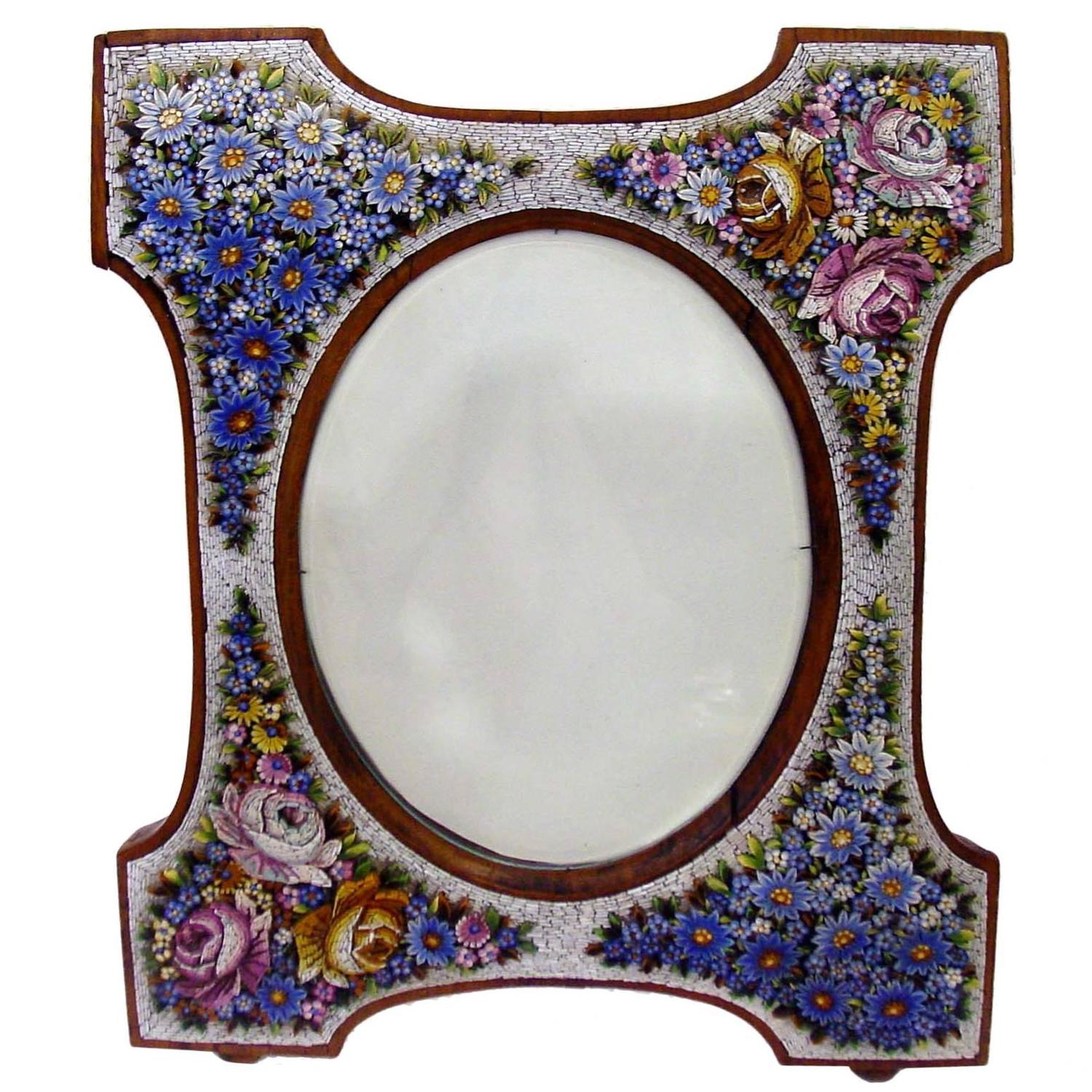 superb micro mosaic frame venice italy circa 1900 at 1stdibs - Mosaic Picture Frames