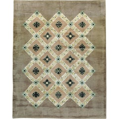 Antique French Leleu Rug