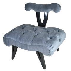 Grosfeld House Slipper Chair, circa 1940s