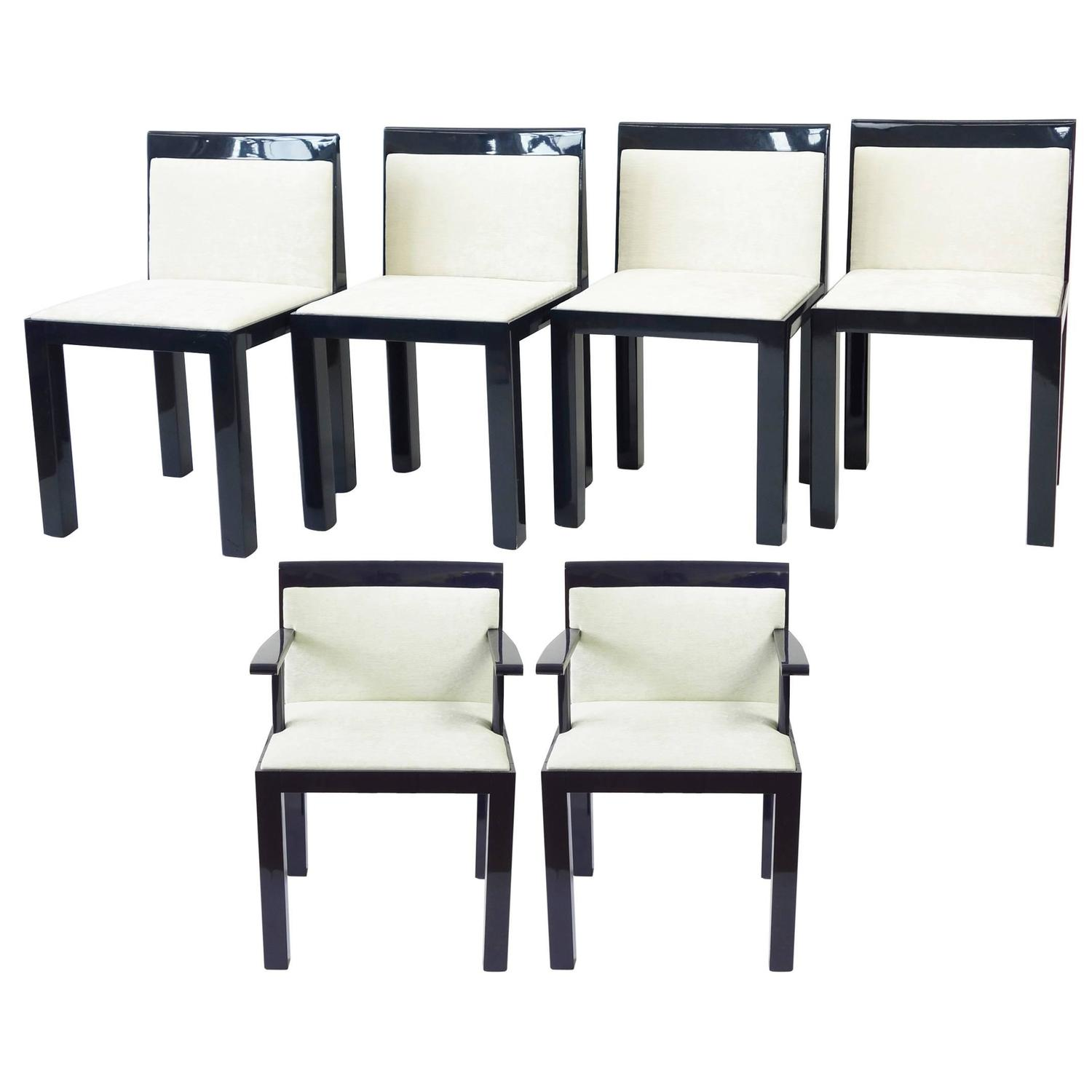 Six Teatro Chairs by Aldo Rossi and Luca Meda at 1stdibs
