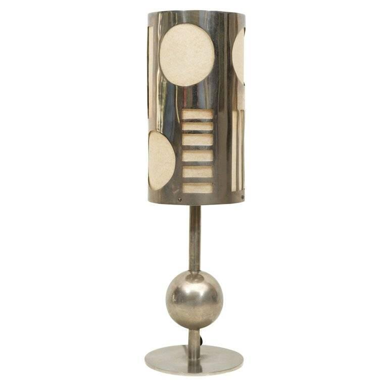Art Deco Table Lamp Designed by Karl Hagenhauer 1