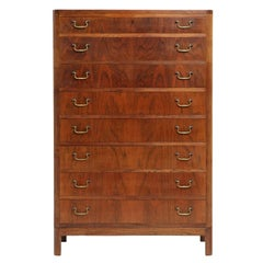 Tall Chest of Drawers by Ole Wanscher