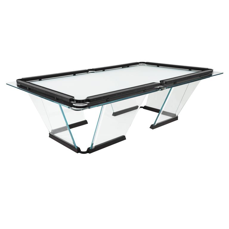 Custom Pool Table Designed By Thomas OBrien Of Aero Studios For - Lucite pool table