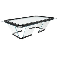 """""""T1"""" Crystal Pool Nine Feet Size Table Designed by Marc Sadler for Teckell"""