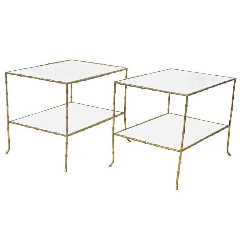 Bagues Style Table Pair