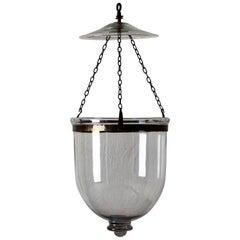 Lantern English Glass 19th Century Metal England