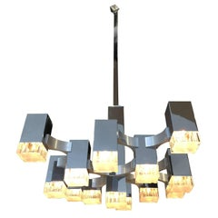 Cubic Chandelier by Sciolari