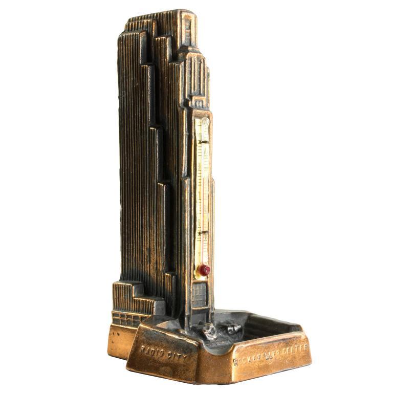 RCA Building, New York - c. 1960 architectural souvenir