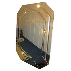 Elongated Octagonal Step Mirror
