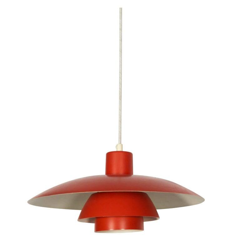 Poul Henningsen PH 4 Pendant Light for Louis Poulsen, Denmark, 1960s