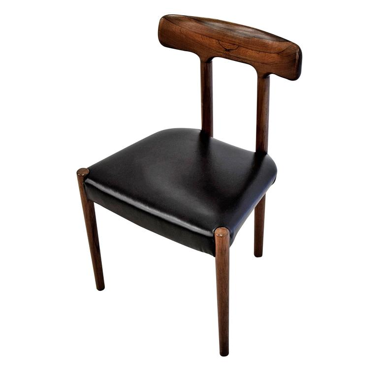 20th Century Rosewood T Chair