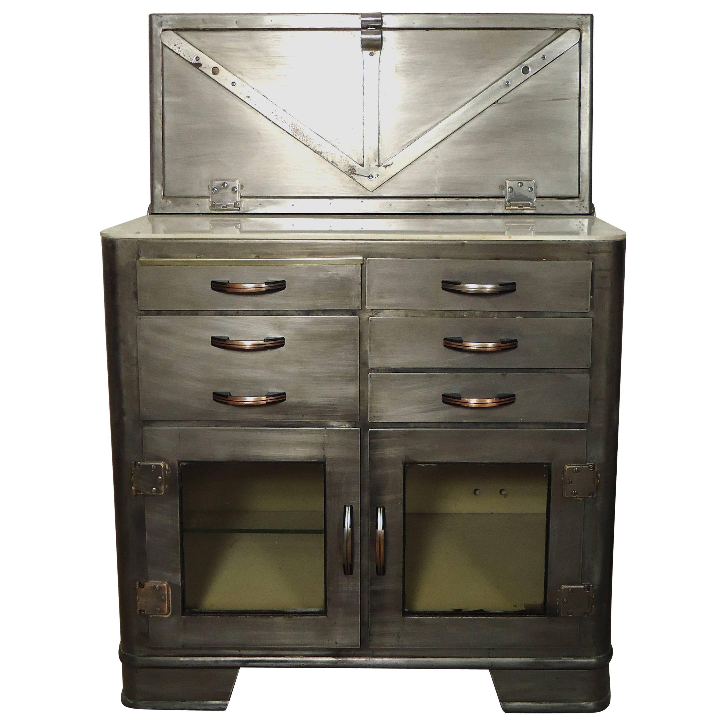 Vintage Hospital Cabinet, Bathroom Storage