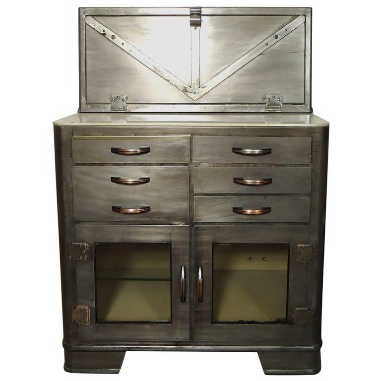 Vintage Hospital Cabinet, Bathroom Storage For Sale