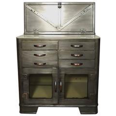 Vintage Hospital Cabinet, Bathroom Storage