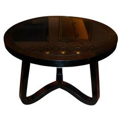 1950s Coffee Table or Gueridon by Jean Royère