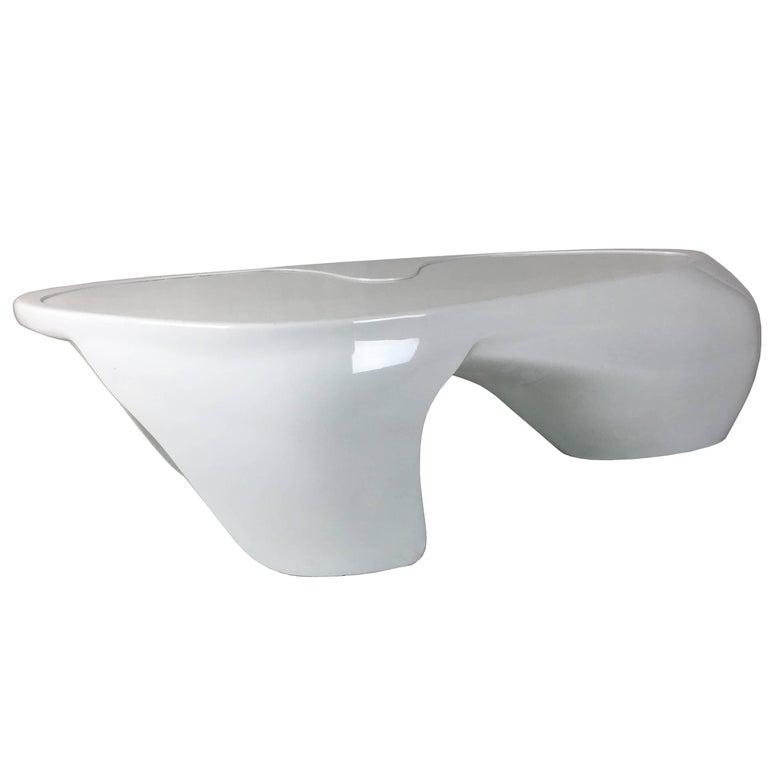 Freeform Coffee Table or Bench by Giorgio Borusso