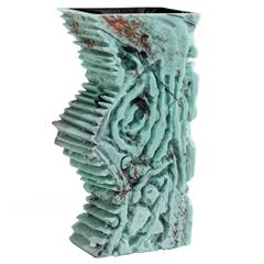 Unique Assemblage Vessel in HandBlown Glass by Thaddeus Wolfe, 2015