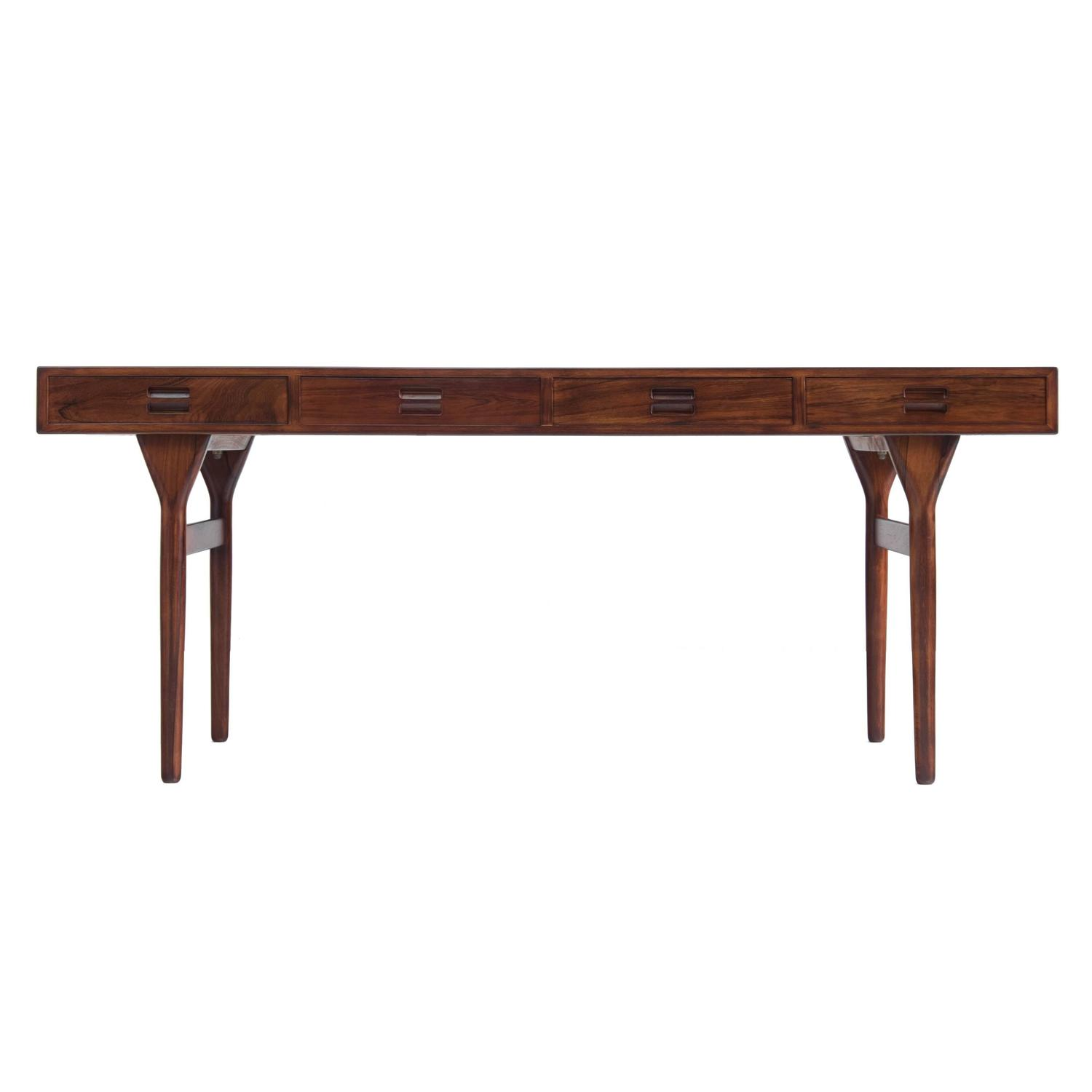 Amazing photo of Nanna Ditzel Rosewood Writing Table with Four Drawers at 1stdibs with #64382A color and 1500x1500 pixels