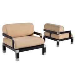 Romeo Rega Pair of Club Chairs