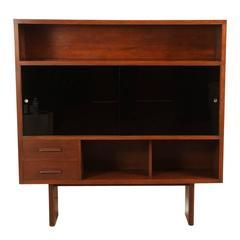 Walnut French Cabinet / Bookshelf
