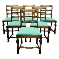Set of Six Chairs by Carl Malmsten, circa 1930