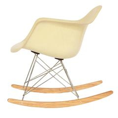 Herman Miller Zenith Eames Rope Edge Rocker (RAR) with Rare Base