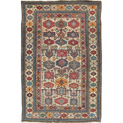 Antique Shirvan Caucasian Rug