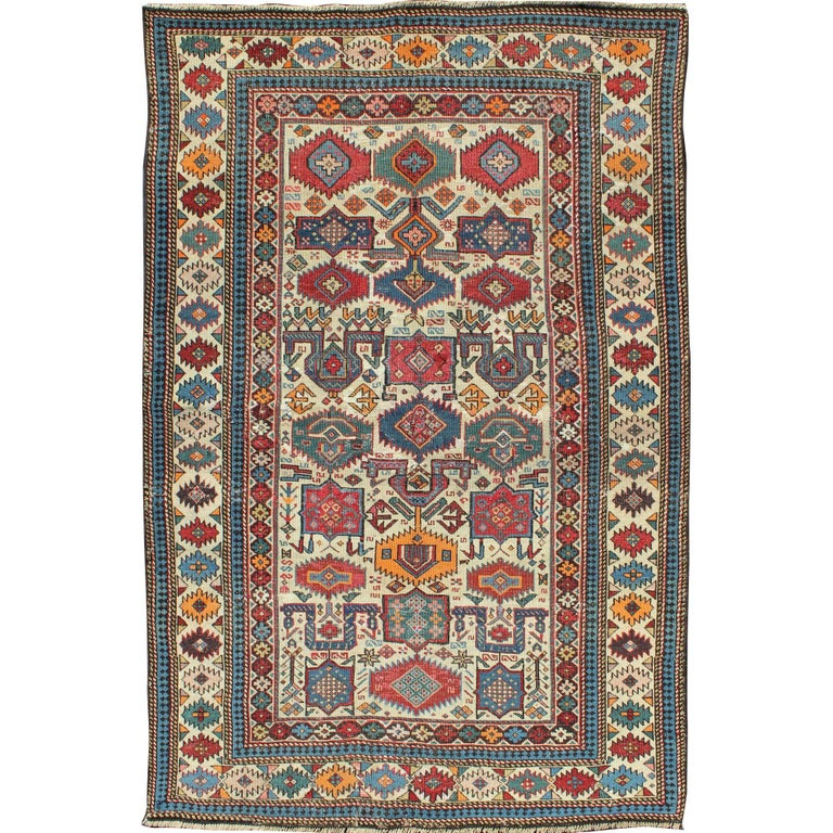 Antique Shirvan Caucasian Rug
