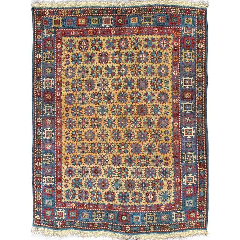 Rare Antique Caucassian Shirvan Rug