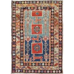 Antique Caucasian Qaraqashli Rug