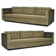 Pair of Paul McCobb Sofas for Directional