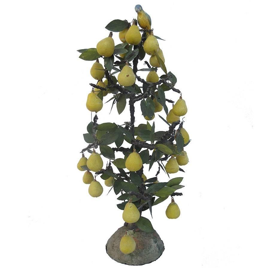 Partridge In A Pear Tree Sculpture At 1stdibs