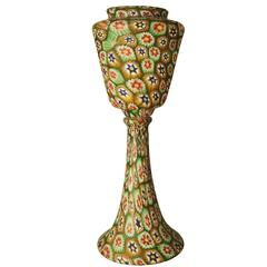 "Fratelli Toso Multicolor Murano Glass ""Murrine"" Table Lamp, 1920s"