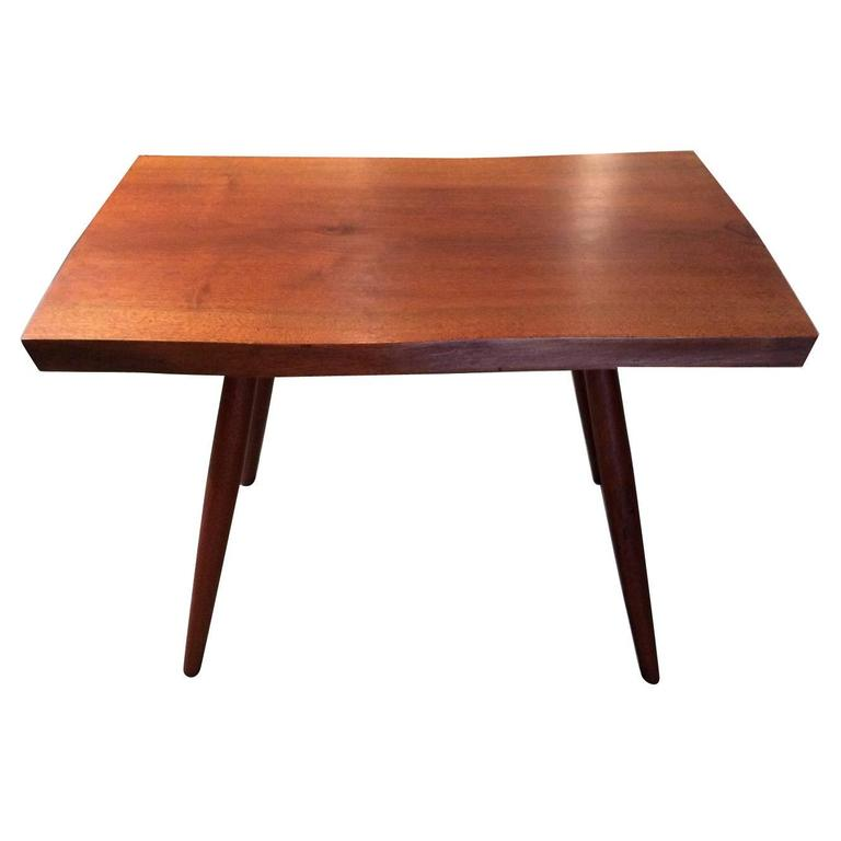 Early Walnut Table by George Nakashima For Sale