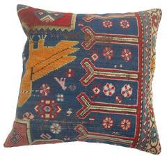 Karabagh Pigeon Rug Pillow