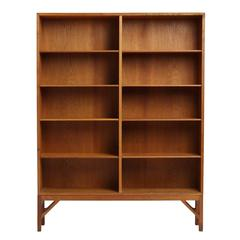 Standing Bookcase by Borge Mogensen