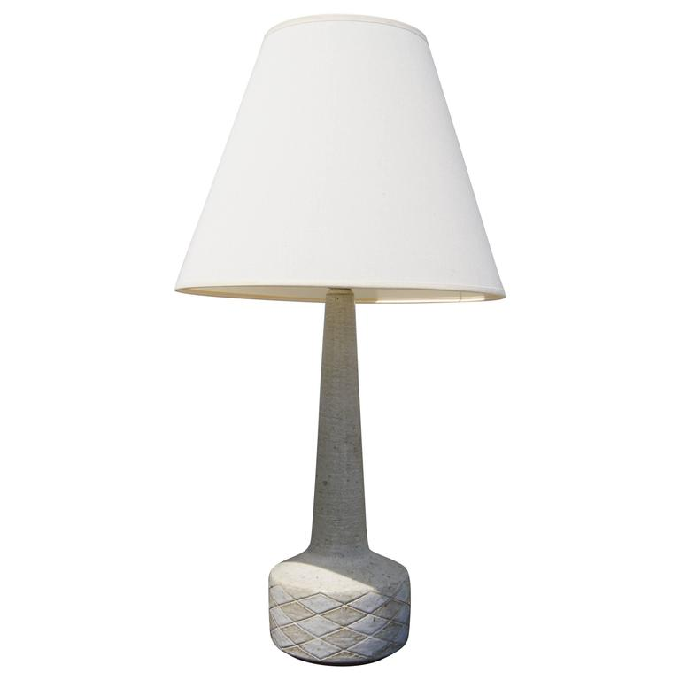 this white ceramic table lamp by palshus denmark is no longer. Black Bedroom Furniture Sets. Home Design Ideas