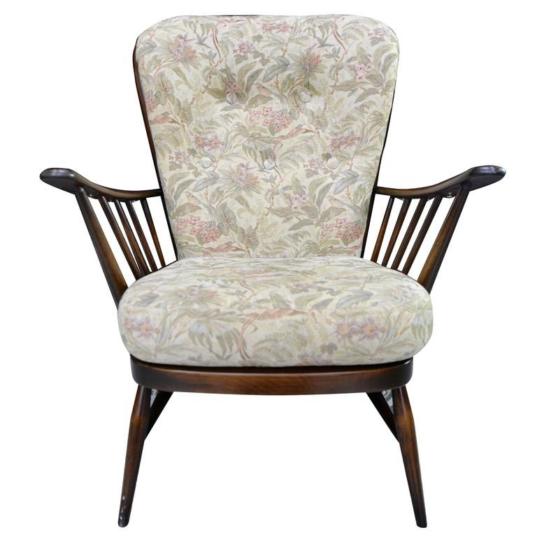 Ercol Evergreen Easy Lounge Chair By Lucian R Ercolani For